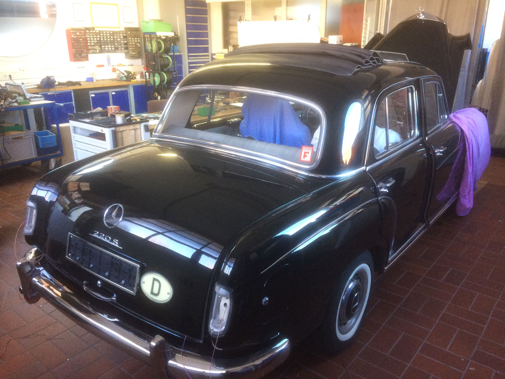 Cartronic Restauration Mercedes-Benz W180