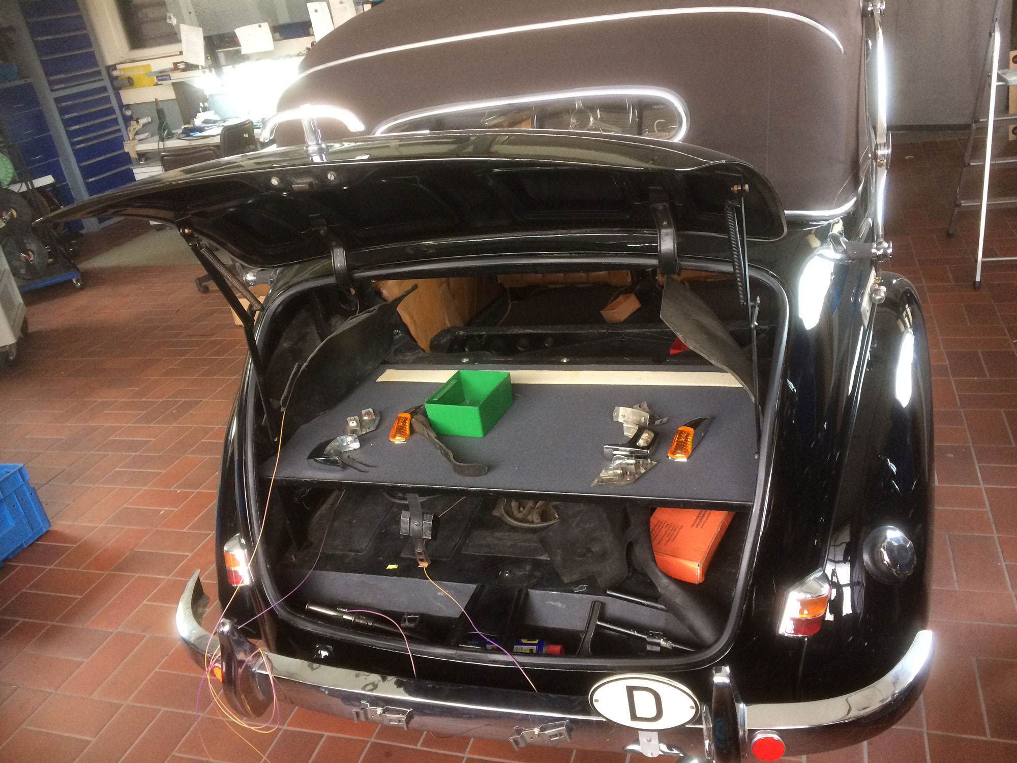 Cartronic Restauration Mercedes-Benz W187