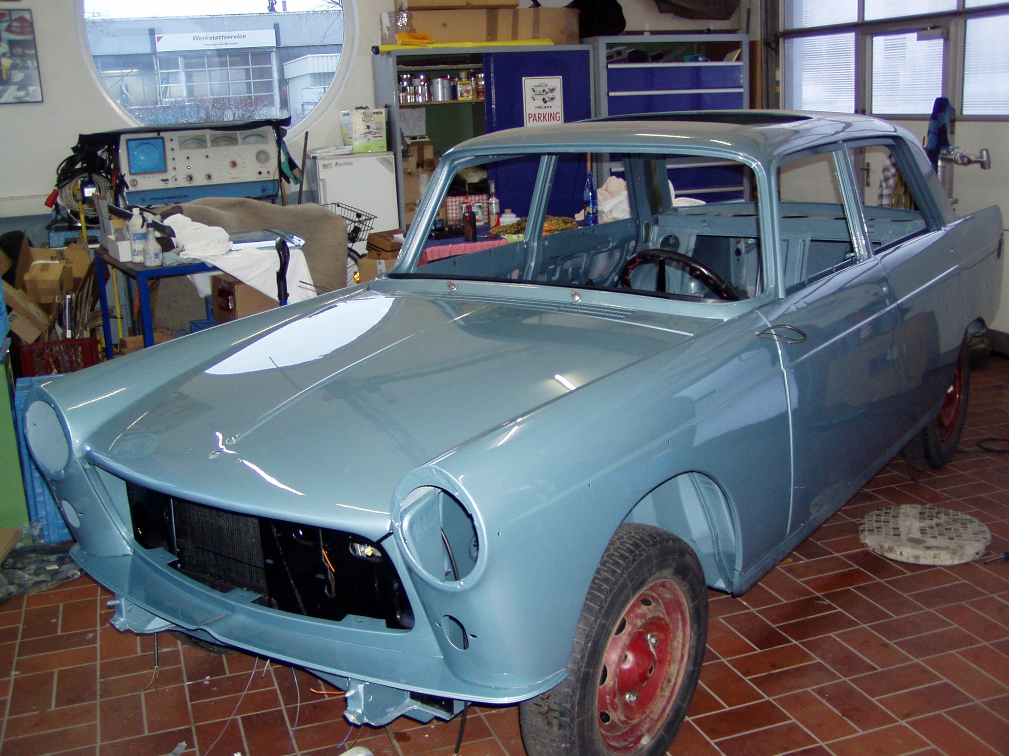 Cartronic Restauration Peugeot 404